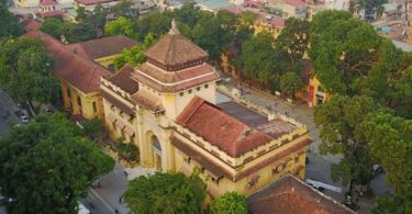 The Old Building of Hanoi General University